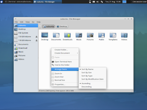 Greybird in Xubuntu 12.10