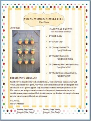 YW Newsletter June photo