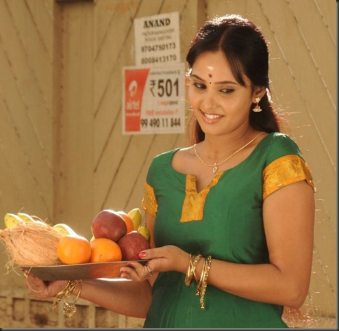 Tamil Actress Aarushi in Velmurugan Borewells Movie Stills