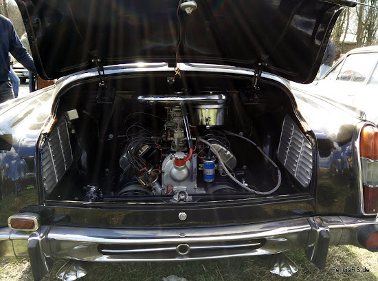 Luftgekühlter V8 Tatra Motor