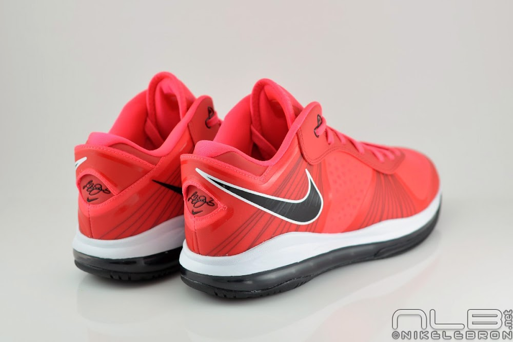 lebron 8 low red - photo #14