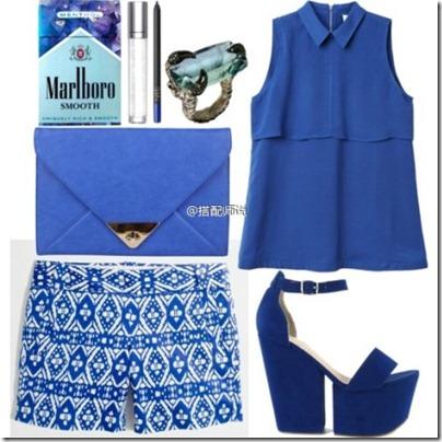 Royal Blue Mix N Match 05