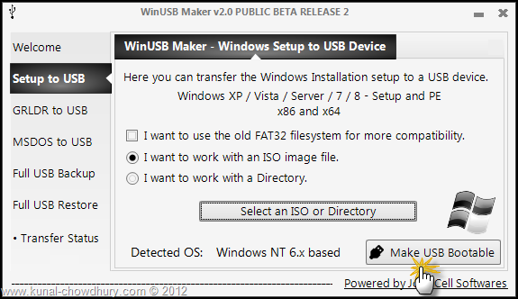 Create Bootable Windows 8 USB - Make USB Bootable