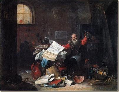 Teniers, L'alchimiste