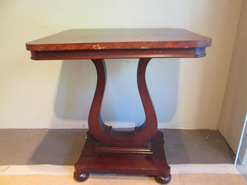 Lyre Base Table