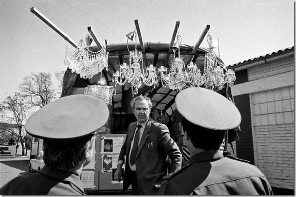 Ritiro delle truppe sovietiche da Milovice 265590