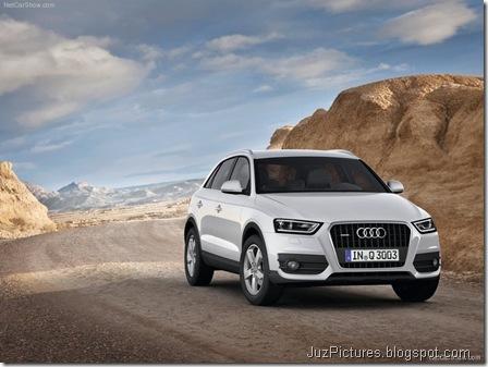 Audi Q3 - Front Angle1