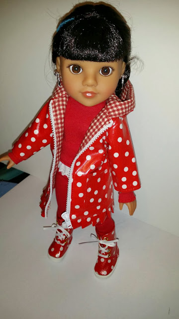 hearts4hearts doll Mosi in Celenalei Raingear