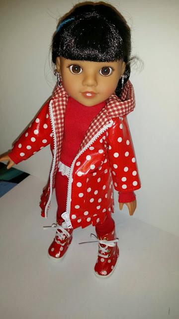 hearts4hearts doll Mosi in Celenalei Raingear