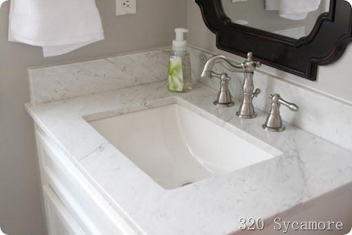 Amazing february master bathroom after