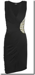 Just Cavalli Wrap Front Dress