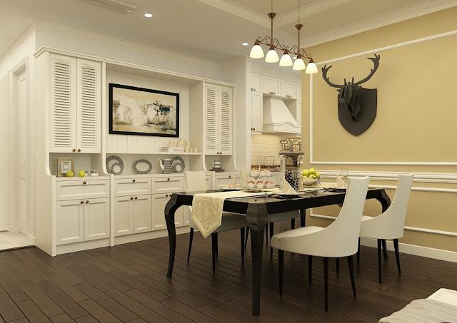 Phòng ăn căn hộ hanoi lanmark 51