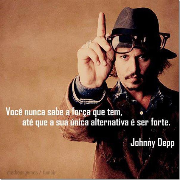 Palavras sábias de Johnny Deep