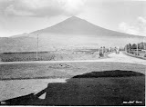 Gunung Cikuray from Hotel Tjisoeroepan (Thilly Weissenborn, 1920-1940) Courtesy TropenMuseum Archives
