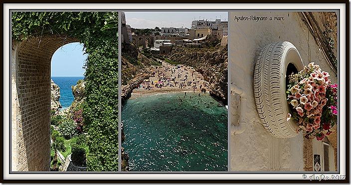 2013_Collage_Apulien_Polignano a mare