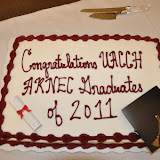 UACCH ARNEC Nurse Pinning Ceremony 2011