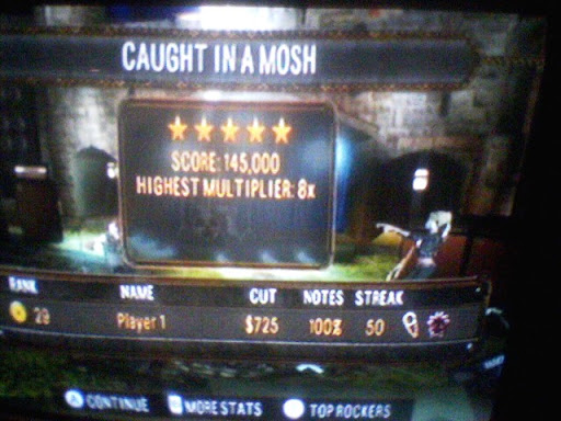 Caught In A Mosh Expert Vocals FC 145000