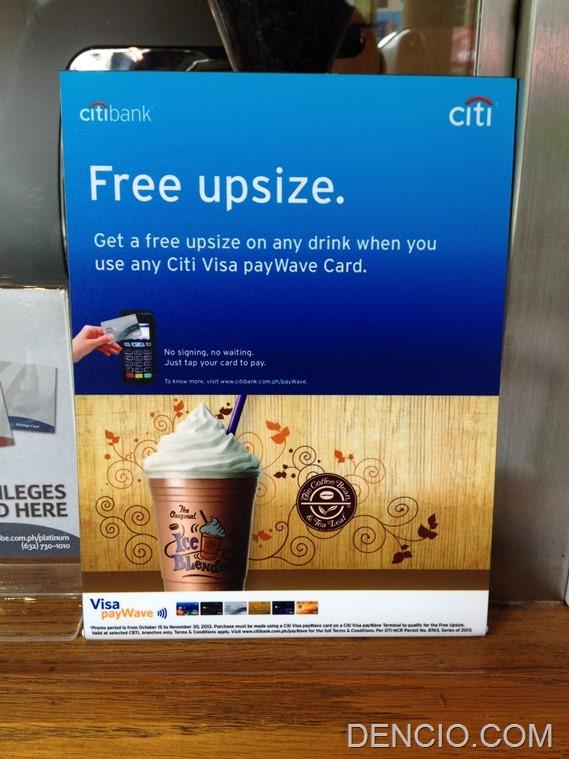 Citibank Visa PayWave Philippines 10