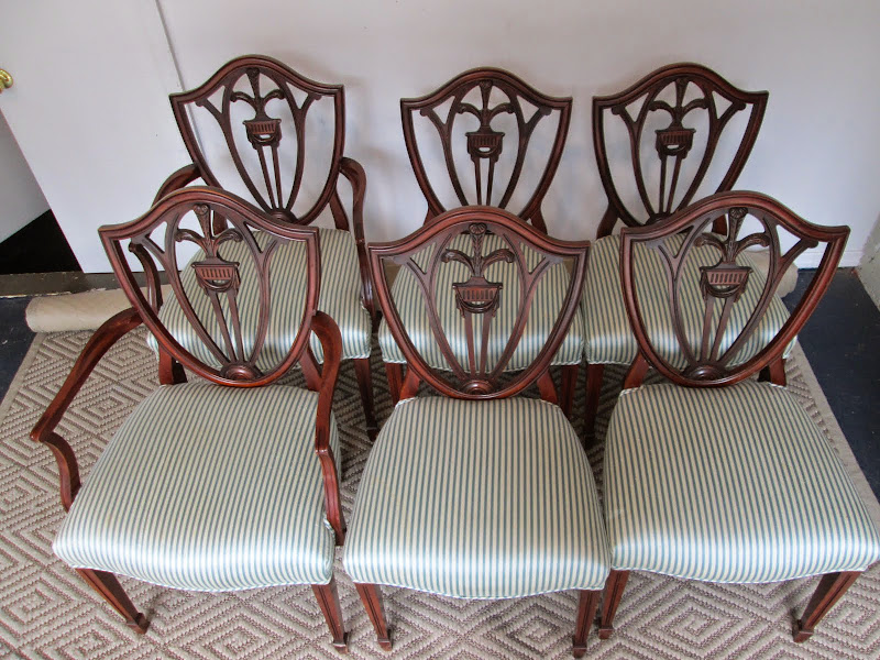 Shield Back Dining Chair Set