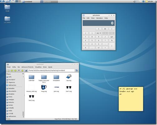 ภาพ Wallpaper ใหม่บน Lubuntu 12.04