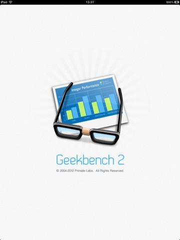 Geekbench iphone ipad
