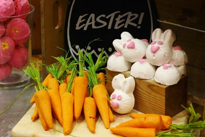 Lush easter collection 2015 blogger event