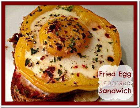 egg tapenade sandwich