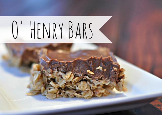 O' Henry Bars (Not Healthy Granola Bars)