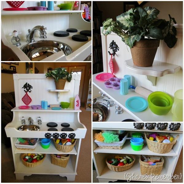 Play kitchen remake for Kitchen remake