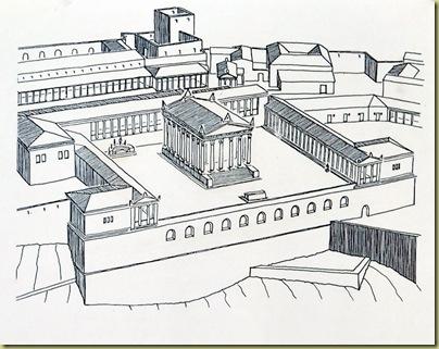 Pergamon Temple Trajan Explanation