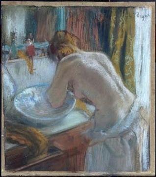 Edgar Degas, La Toilette, 1884-1886