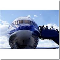 loading plane