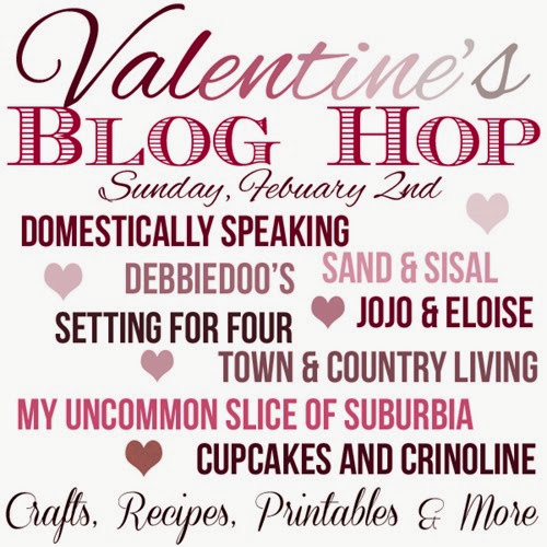 8 Craft, DIY, Recipe Ideas at this fun Valentine's Blog Hop