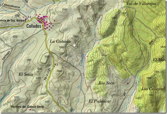 Mapa collados