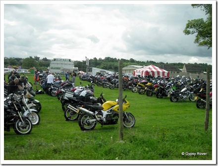 Motorcycle show at Kelso. More like a convention.