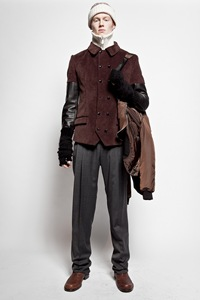 Rainer Torrado for Jean Paul Gaultier Monsieur, F/W 2012.