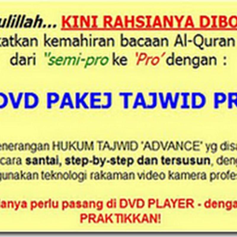 Jangan segan dengan Al-Quran