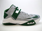 nike zoom soldier 6 tb grey green 1 07 4 x Nike Zoom Soldier VI Team Bank: Black, Navy, Green &amp; Red