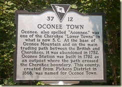05 oconee town historic marker