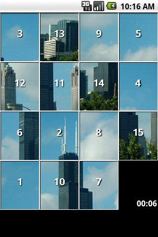Chicago City Slide Puzzles