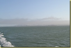 Fog over SF