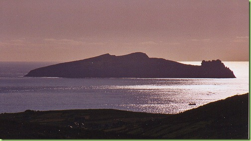 Ireland's Sleeping Giant Island aka'The Dead Man