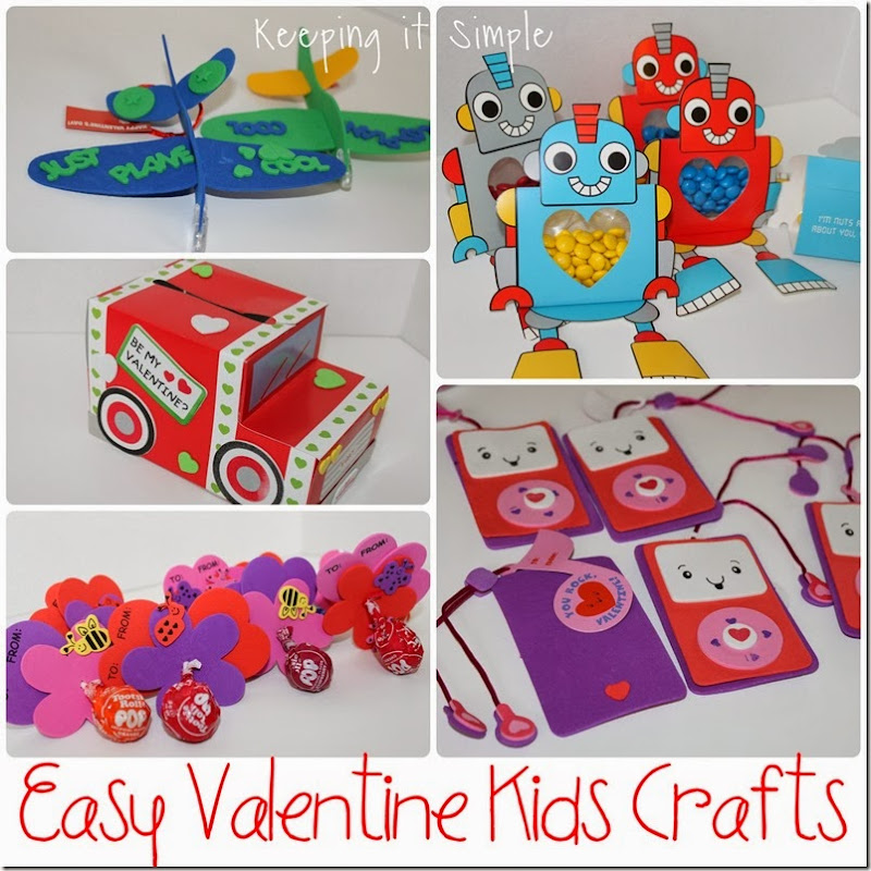 easy-valentine-kids-crafts #orientaltrading