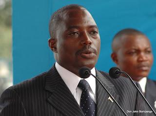 Le président Joseph Kabila. Radio Okapi/ Ph. John Bompengo