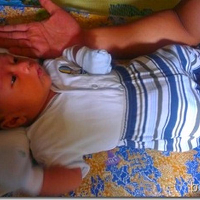 Genap Qhaliff Iman 4 minggu ..