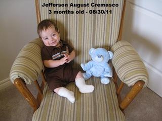 Jefferson 2 months old