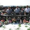 Пердуово гробље, Бања Лука, 5.8.2012., Беритасовци положили цвијеће на заједничкој гробници Крајишницима погинулим на Динари у јулу 1995.