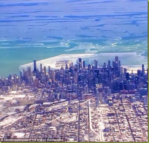 chicago lake mich freezes