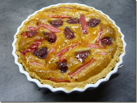 rhubarb and strawberry tart4