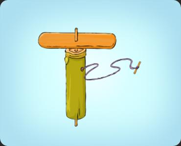 membuat mainan baling-baling bambu_6
